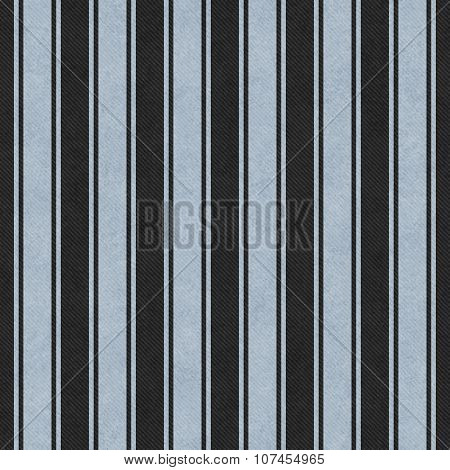 Blue And Black Striped Tile Pattern Repeat Background
