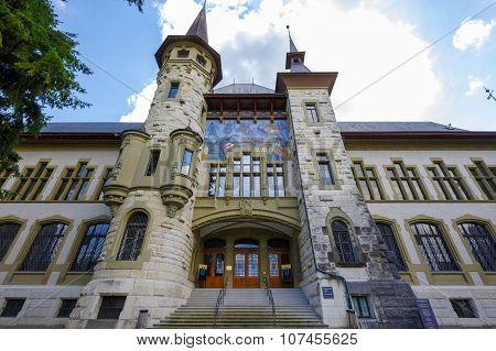 The Bern Historical Museum Facade