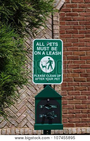 Dog Cleanup Station