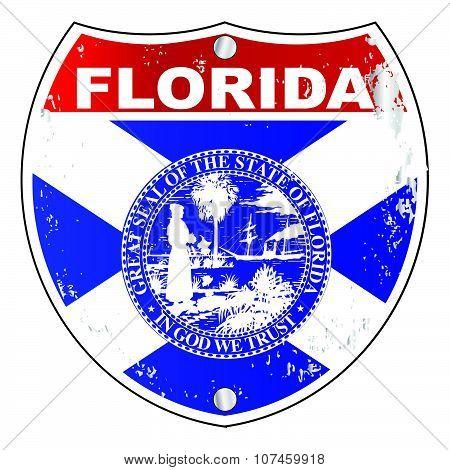 Florida Interstate Sign