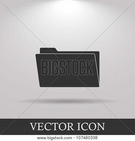 Folder  Flat Web Icon