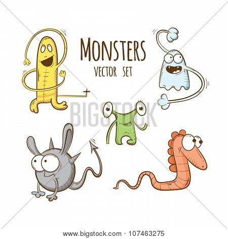 Set With Monsters.
