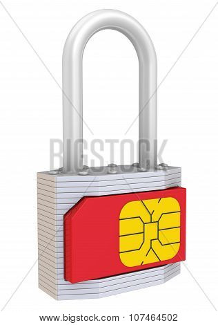 SIM-card protection. Concept