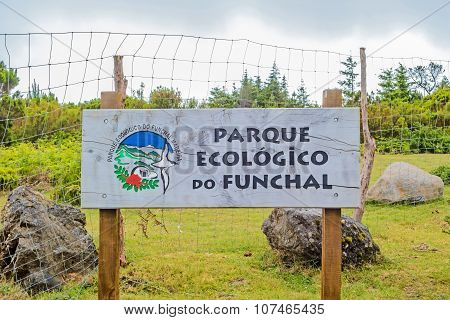 National Preserve Parque Ecologico Do Funchal, Madeira