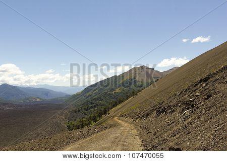 Landscape Land Of Volcanoes, Chile