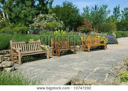 English Garden Benches