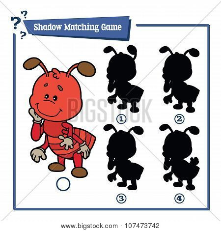 funny shadow ant game.