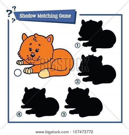 funny shadow cat game.