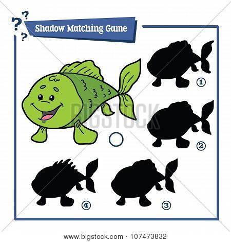 funny shadow fish game.