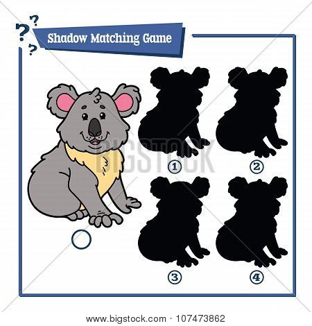 funny shadow koala game.