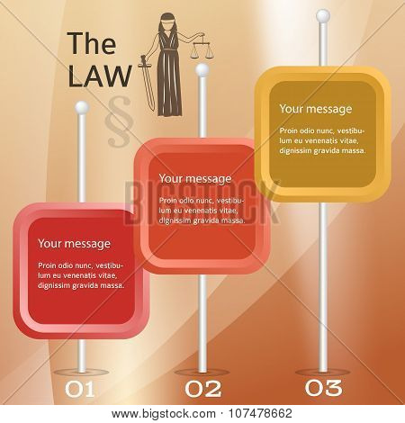 Justice-concept-cover-page-brochure-brown-background
