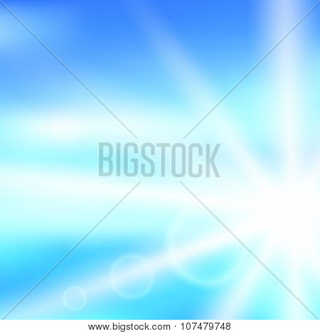 Sunlight-in-the-ocean-mood-background-cover