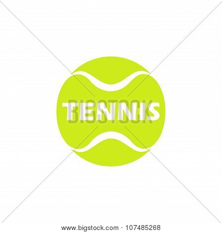 Logo of Tennis Ball