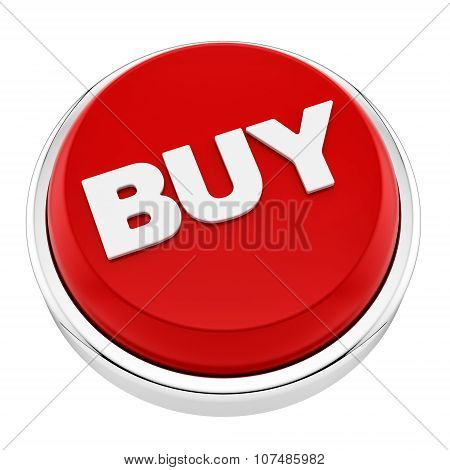 render of buy button, isolated on white