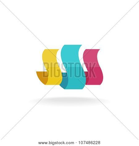Abstract Shapes Logo