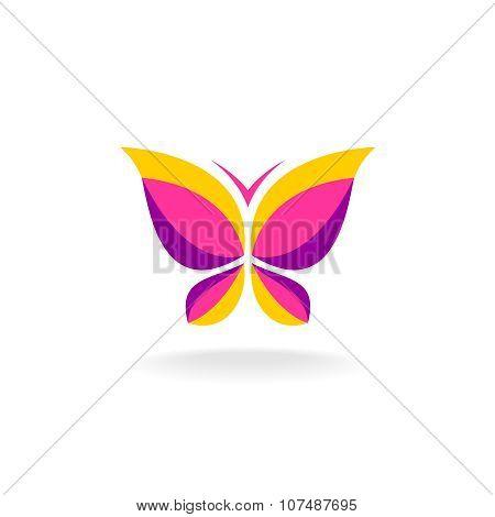 Colorfuk Butterfly Logo