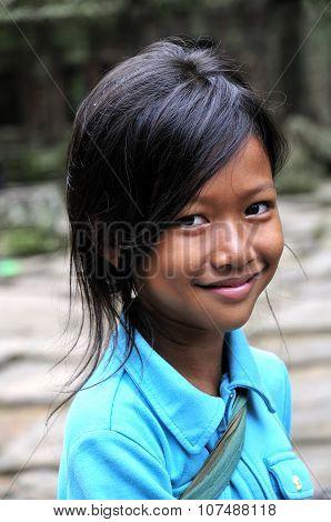 Cambodian smile