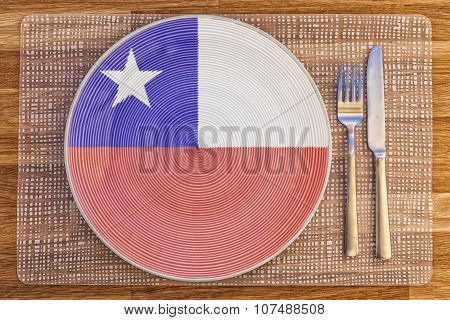 Dinner Plate For Chile
