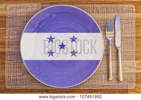 Dinner Plate For Honduras