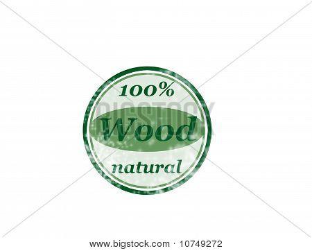 100 % Holz