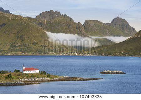 Lofoten Archipelago, Austvagoya Island,