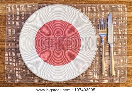 Dinner Plate For Japan