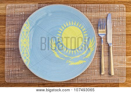 Dinner Plate For Kazakhstan