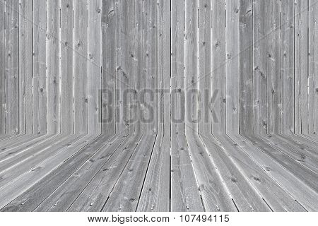 Background Wood Fence Intersect Floor, Seamless Box
