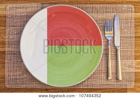 Dinner Plate For Madagascar