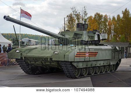 The Tank T-14 Armata