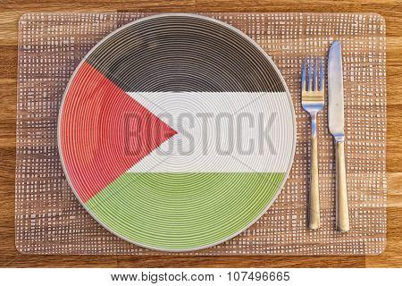 Dinner Plate For Palestine