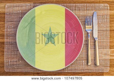 Dinner Plate For Senegal