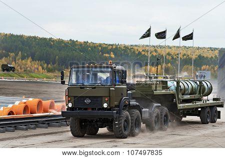 Missile Transporter 5T58