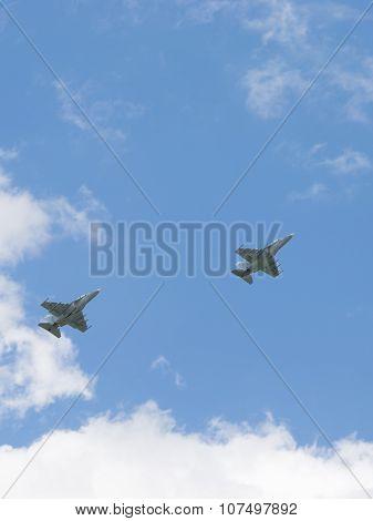 Two Yak-130 Mitten
