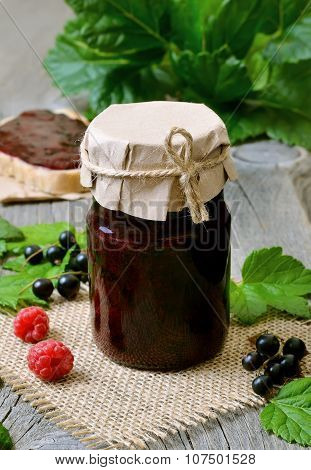 Berry Jam With Black Currants