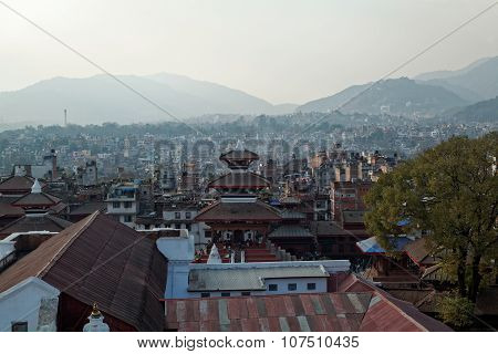 Lalitpur, Kathmandu Rooftop View