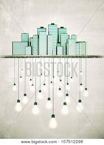 Big City Creates Bright Ideas Concept