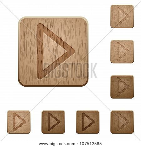 Media Play Wooden Buttons