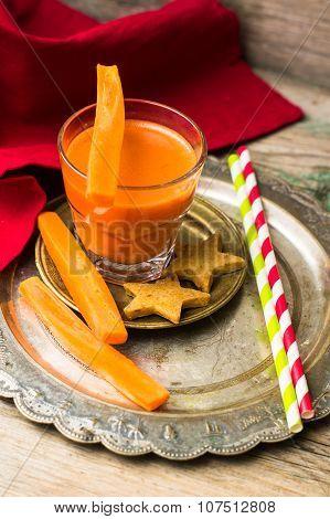 Healthy Food Fresh Carrot