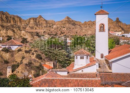 Guadix, Villages In The Province Of Granada Andalucia, Southern Spain