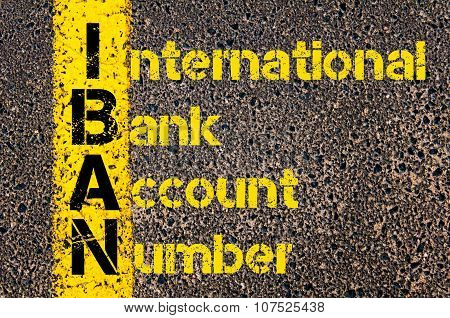 Business Acronym Iban As International Bank Account Number