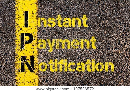Business Acronym Ipn As Instant Payment Notification