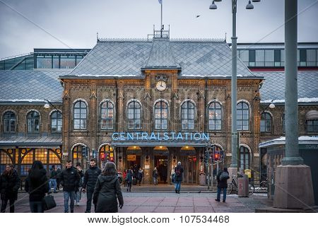 Gothenburg Central Train Station
