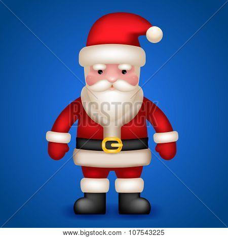 Santa Claus Character Vector Illustration