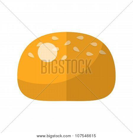 Bun flat icon