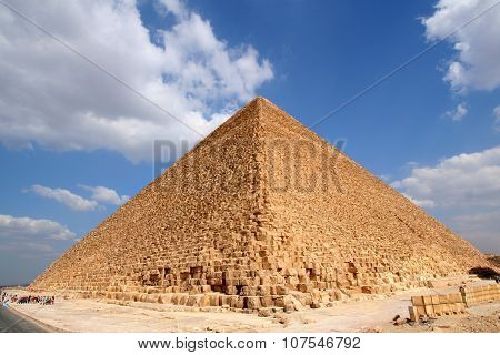 Egyptian great pyramid