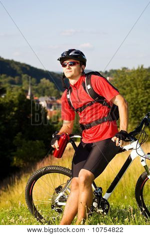 Biking Man