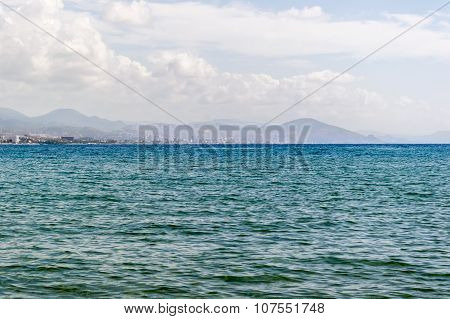 Mediterranean Sea And Mountains, Alanya, Turkey