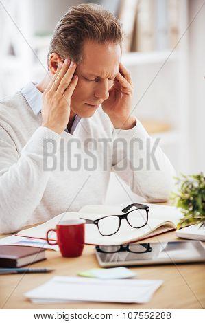 Feeling Headache.