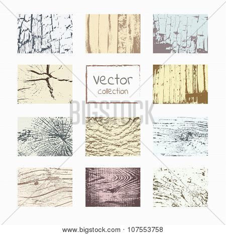 Wood textures template.